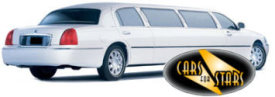 Limo Hire Baxley - Cars for Stars (Sheffield) offering white, silver, black and vanilla white limos for hire