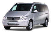 Chauffeur driven Mercedes Viano people carrier - Up to 7 passengers in comfort, from Cars for Stars (Sheffield) - Airport Transfer Services